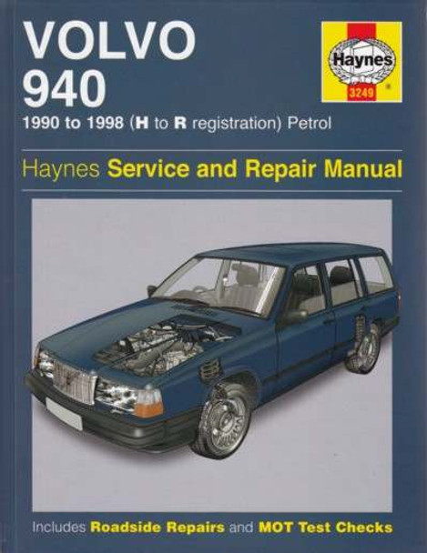 volvo 940 1990 1998 workshop manual rh automotobookshop com au 1976 Volvo 240 83 Volvo 240 GLE