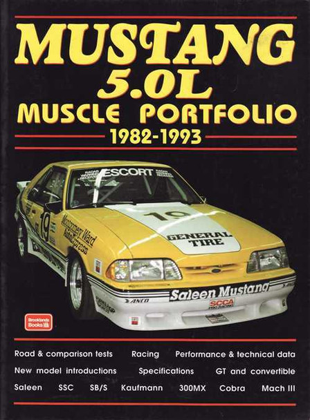Mustang 5.0L Muscle Portfolio 1982 - 1993