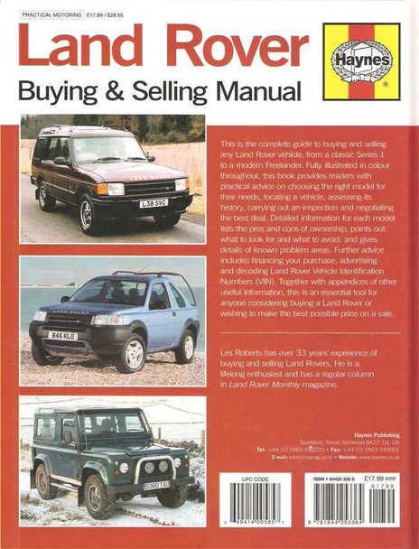 Land Rover Buying & Selling Manual