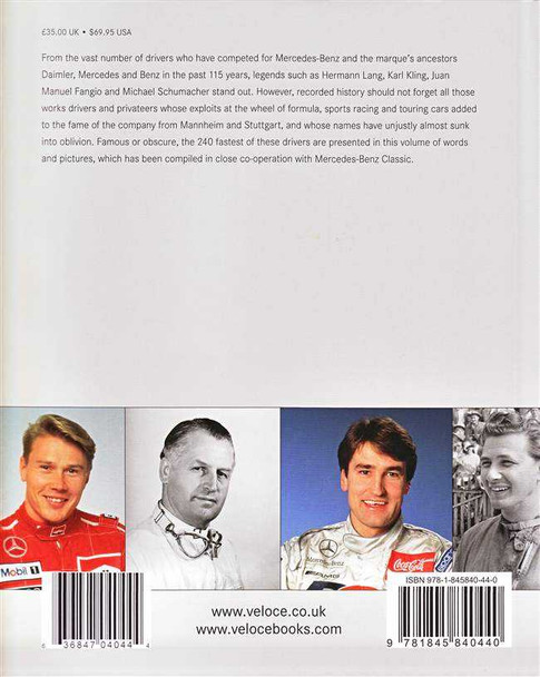 Racing for Mercedes-Benz: A Dictionary of the 240 Fastest Drivers of the Marque