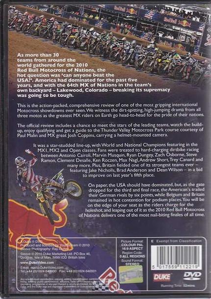 FIM Motocross Of Nations 2010 DVD