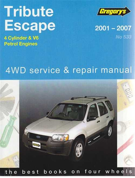 ford tribute and mazda escape petrol 2001 2007 workshop manual rh automotobookshop com au 2005 Escape 2001 ford escape workshop manual