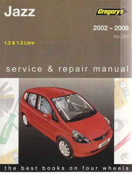 honda jazz 1 2l 1 3l 2002 2008 workshop manual rh automotobookshop com au 2008 honda fit repair manual pdf 2008 honda fit parts manual