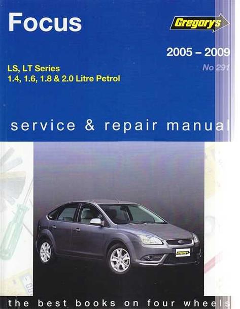 ford focus ls lt series petrol 2005 2009 workshop manual rh automotobookshop com au 2005 ford focus service manual 2005 Ford Owner's Manual