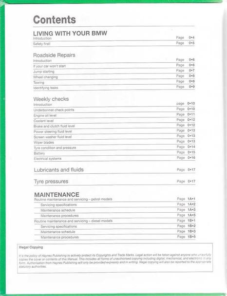 Bmw 1 Series E81 E87 E82 Petrol Diesel 2004 2011 Workshop Manual