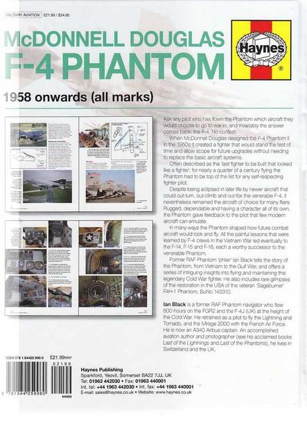 McDonnell Douglas F-4 Phantom 1958 onwards Owner's Workshop Manual