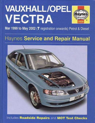 holden vectra vauxhall opel 1999 2002 workshop manual rh automotobookshop com au Haynes Repair Manuals Online Auto Repair Manuals Online