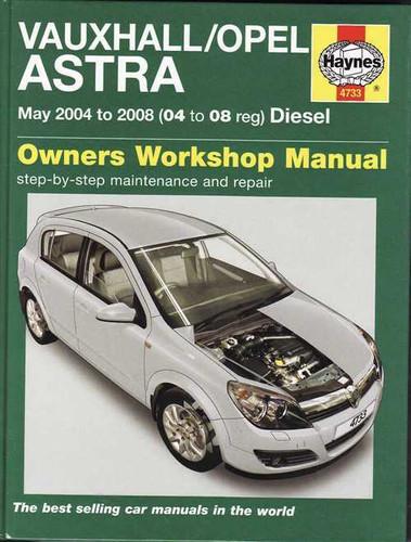 holden vauxhall opel astra ah 2004 2008 diesel workshop manual rh automotobookshop com au holden astra ts owners manual holden astra ts owners manual