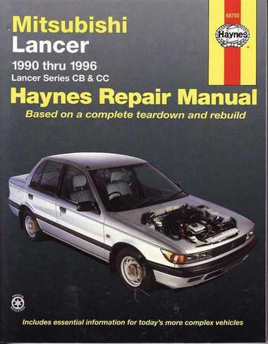 mitsubishi lancer cb amp cc 1990 1996 workshop manual rh automotobookshop com au