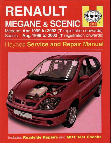 renault megane amp scenic 1999 2002 workshop manual rh automotobookshop com au Renault 1 Renault Scenic Trunk Space