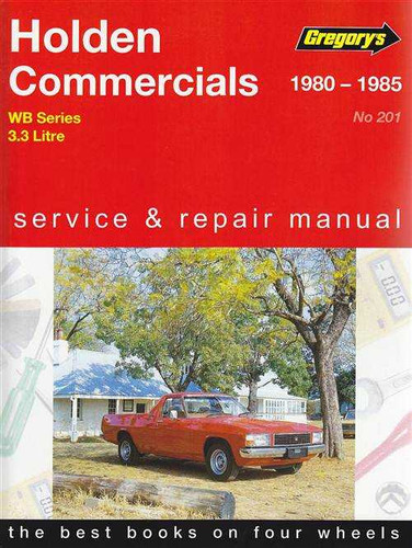 Holden commercials wb series 1980 1985 workshop manual sciox Gallery