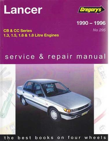 mitsubishi lancer cb cc petrol 1990 1996 workshop manual rh automotobookshop com au
