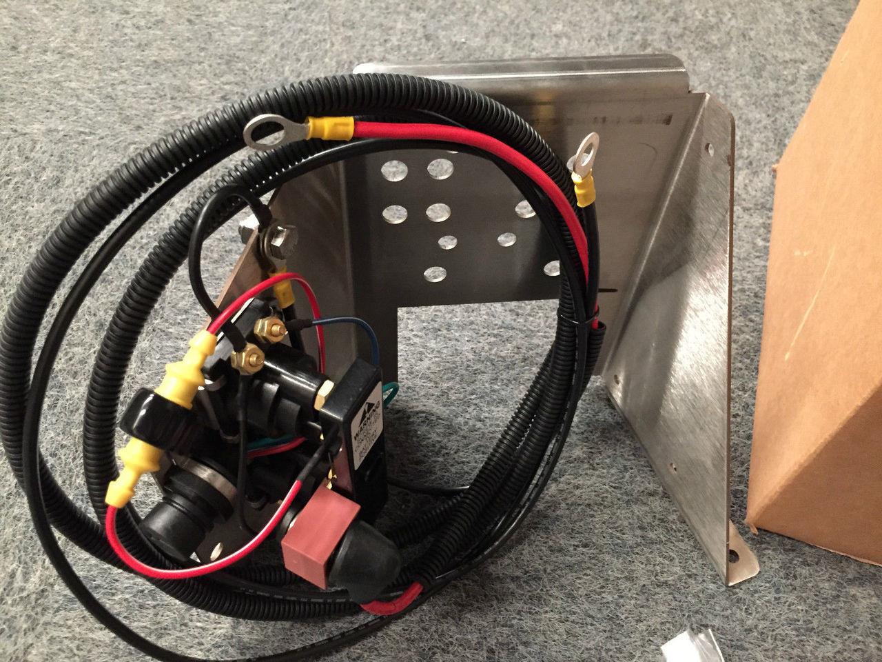 Mercruiser Trim Pump Wiring Diagrams Schematics Boat Gauge Diagram Free Download Stainless Steel Bracket W Solenoid 862548a1