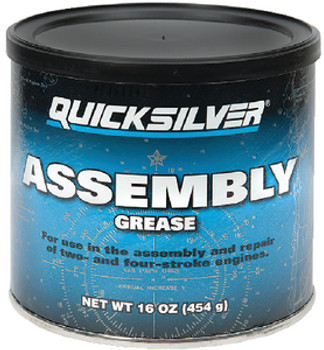 OEM Quicksilver Assembly Grease- 16 Oz Tub  92-8M0071836