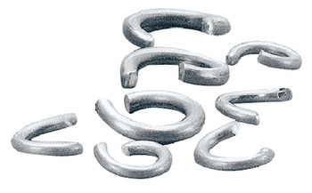 Taylor Stainless Steel Clinching Rings- Pack of 50  1045