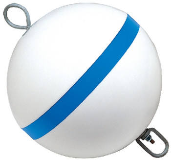 Taylor 18  Round Mooring Buoy Blue/Wh 22172