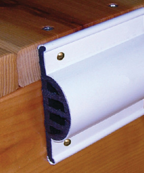 Taylor Comm Side Guard White 10'Coil Re 46013