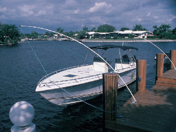 Taylor Deluxe Mooring Whips 23-28'Boats Mw140