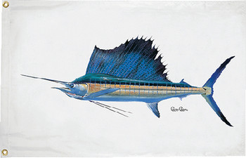 Taylor Flag Sailfish 16X24 1948
