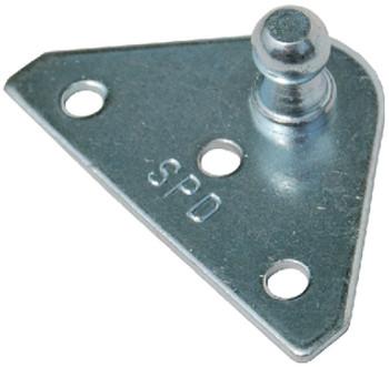 Taylor Flat Zinc Plated Bracket 1 Pr/Pk 1880