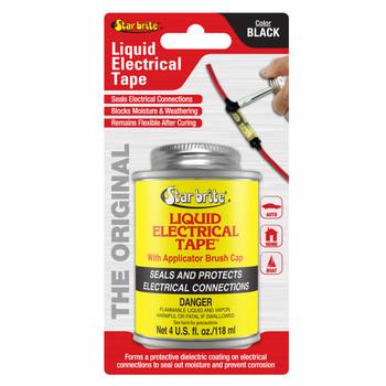 Starbrite Liquid Electric Tape Black 4 Oz 84104