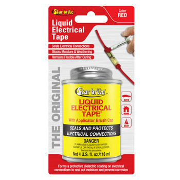 Starbrite Liquid Electric Tape Red 4 Oz 84105