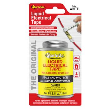 Starbrite Liquid Electric Tape White 4 Oz 84107