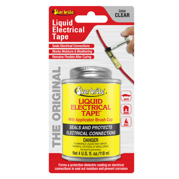 Starbrite Liquid Electric Tape Clear 4 Oz 84108