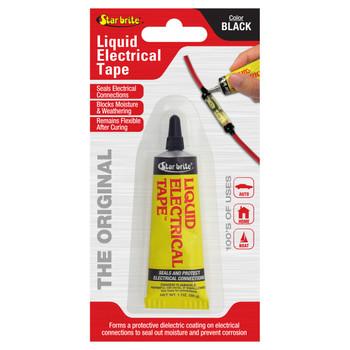 Starbrite Liquid Electric Tape Black 1 Oz 84154
