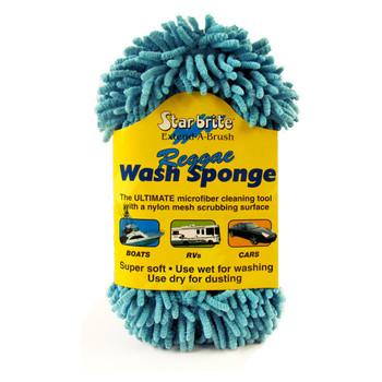 Starbrite Microfiber Reggae Sponge Blue 40078