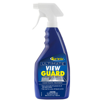 Starbrite View Guard Clear Plastic Treatment 95222