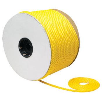 """Seachoice Twist Poly Yellow 1/4"""" x 600F 42710"""