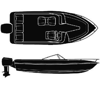 Seachoice 17'6 V-Hull With O/B Cover 50-97401