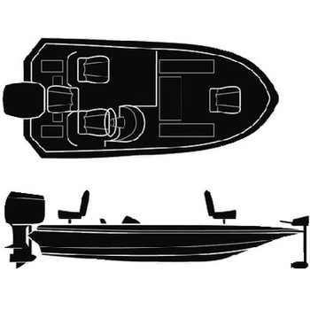 Seachoice 17'6 Wide Bass Boat Cover 50-97561