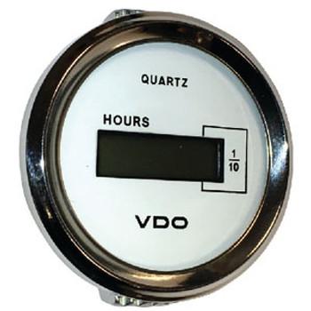 Seachoice Hourmeter Chro/White 50-15181
