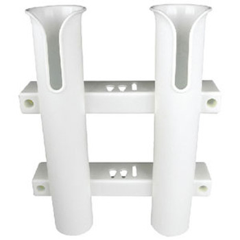 Seachoice Rod Rack-Holds Two-White 89401