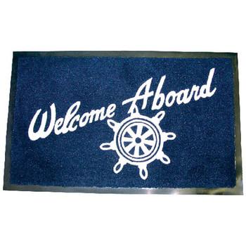 Seachoice Welcome Aboard Mat-Navy 78180