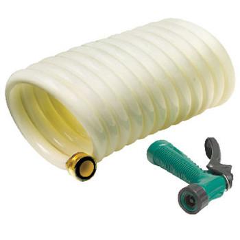 Seachoice Coil Hose W/Sprayer 1/2 x 25' 79691