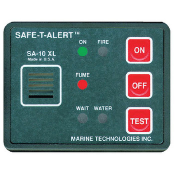 Seachoice Fume Fire Flood Detector 50-46391