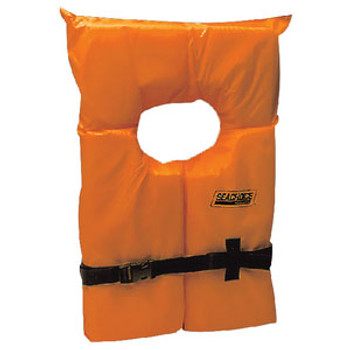 Seachoice Orange Adult Life Vest Epe1110Ak1Auo-85520