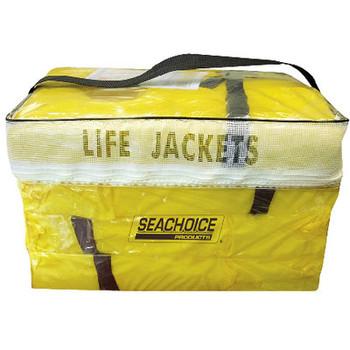 CLEARANCE Seachoice Yellow Adlt Life Vest 4Pak W/Bag Epe1110Ak1Aupk4Y-86010
