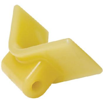 "Seachoice Bow Stop Yellow 3"" x 3 1/2"" 56550"