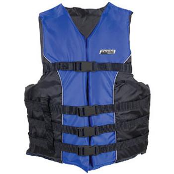Seachoice 4-Belt Ski Vest Blue 4XL/5XL 3440 Blue 4X/5X-85370