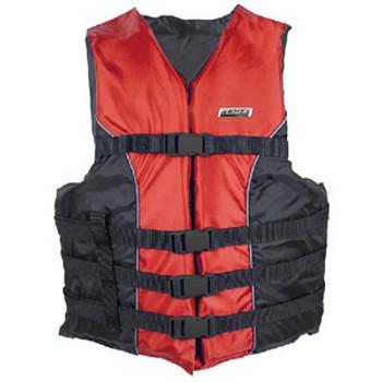 Seachoice 4-Belt Ski Vest Red 4XL/5XL 3440 Red 4X/5X-85400