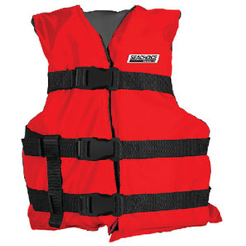 Seachoice Black/Red Youth Vest Epe2111Y-85440