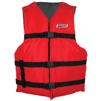 Seachoice Black/Red Adult Vest Epe2220Au-85450