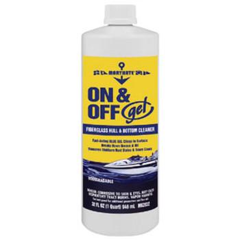 Marikate On/Off Gel Hull & Bottom Cleaner-Quart Mk3532