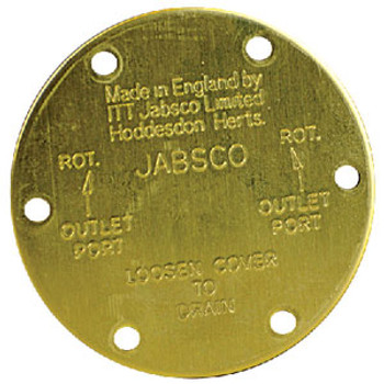 Jabsco End Cover 11831-0000