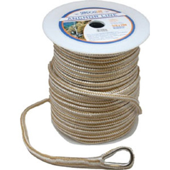 """Sea-Dog Line Anchor Line Double Gold 1/2"""" x 100' 302112100G/W-1"""