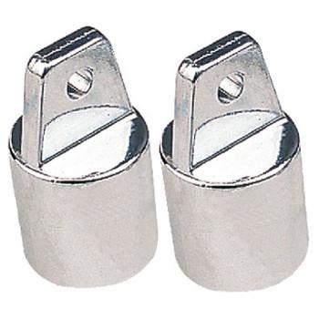 Sea-Dog Line Chrome Zinc Top Cap 7/8 2/Cd 276100-1